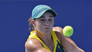 Ash Barty's Singles Campaign begins today.