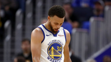 The situation has gone from bad to worse for Steph Curry and the Warriors.
