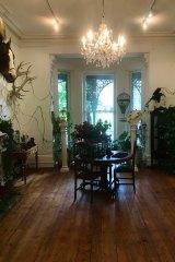 Julia deVille's new studio and showroom.