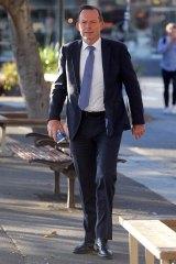 Deliveryman: Tony Abbott