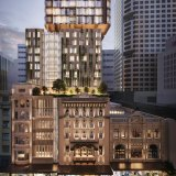 Renders of the IHG and City Tattersalls Club's new Hotel Indigo Sydney Centre planned to open in 2025 in Sydney's CBD