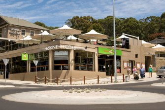 The Lorne Hotel on Victoria's Great Ocean Road.