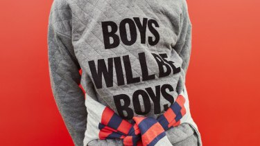 The Peter Alexander boys pyjama top which has been pulled from the shelves.