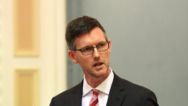 It wasn't the fault of the state government that Brisbane Metro was delayed, Minister Mark Bailey said.