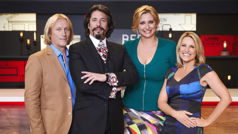 House Rules Judges Drew Heath Laurence Llewelyn Bowen Host Johanna Griggs And Judge