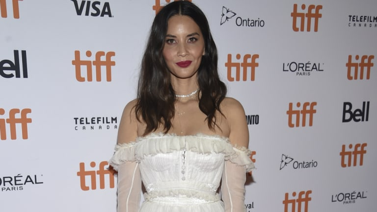 Actress Olivia Munn at the TIFF premiere for The Predator.