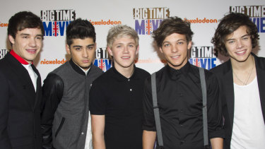 The band who sparked it all, One Direction - (from left) Liam Payne, Zayn Malik, Niall Horan, Louis Tomlinson and Harry Styles - in 2012. The band officially split in 2015.