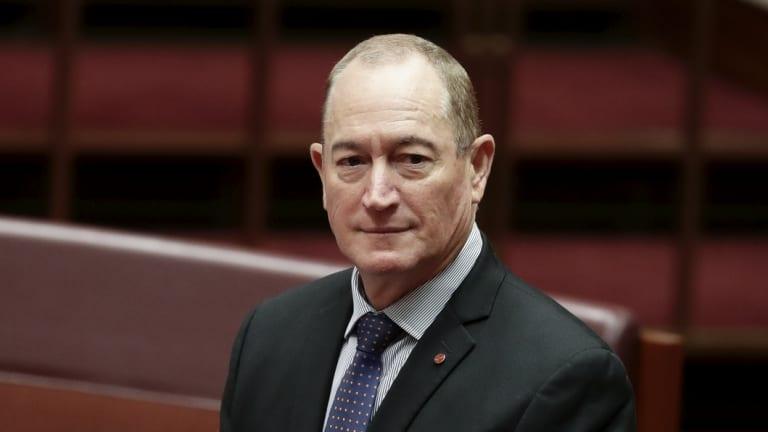 Senator Fraser Anning.