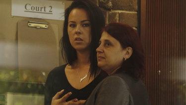 Former police officer Jenna-Lee Hughes, left, was jailed.