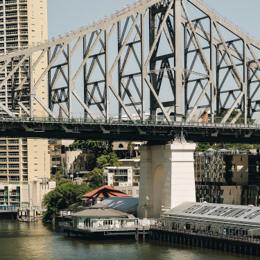 Felons Brewing Co. under the Story Bridge in the new Howard Smith Wharves entertainment precinct is one of several new craft breweries opening in Brisbane.