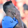 Goodwin penalty and Gauci heroics deny off-colour Sydney FC