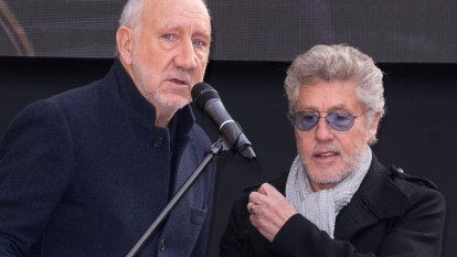 The Who's first studio set in 13 years gets a little awkward