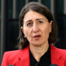 Gladys Berejiklian is calling on NSW businesses to start thinking outside the square and help the coronavirus pandemic.