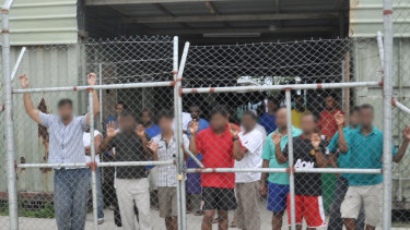 Delta compound at the Manus Island centre.