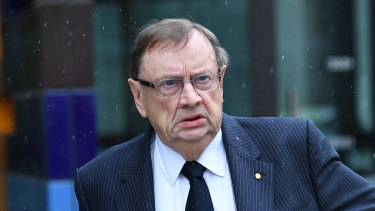 Harold Mitchell spent last week in court hearing ASIC's case against him.