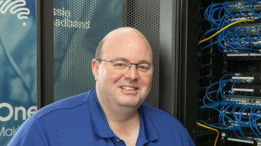 Aussie broadband managing director Phillip Britt. The regional-Victoria based broadband provider is floating on the ASX next week.