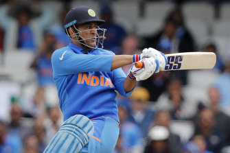Indian great MS Dhoni.