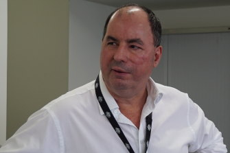 Des Appleby, the AFP agent who led the Pong Su investigation.