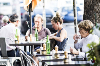 Consumers have stopped spending on recreation, cafes and restaurants, and clothing and footwear – a further sign that households are feeling the pinch.