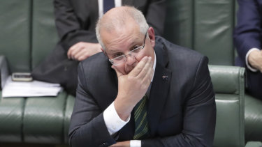 Labor leader Anthony Albanese called for PM Scott Morrison to sack cabinet minister Angus Taylor.