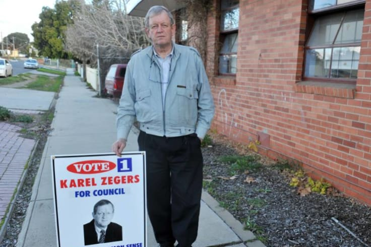 Karl Zegers ran as One Nation candidate for Bendigo at the 1998 federal election.