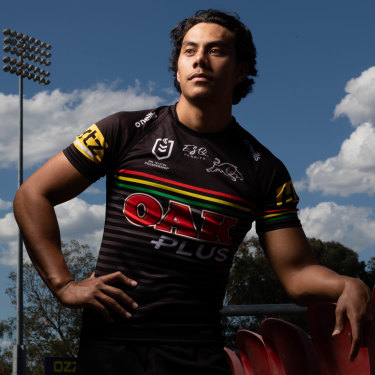 Jarome Luai has been in scintillating form for the Panthers in 2020.