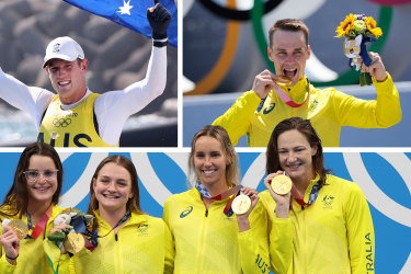 Sunday was Australia's most successful day in Olympic history.