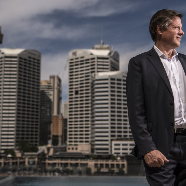 """Surprising"" how many families have moved into the apartments opened in Darling Harbour so far: Lendlease's Rob Deck."