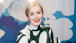 """""""We have 3500 prints, which we've accumulated over seven decades, but we want fresh perspectives,"""" says Marimekko's president Tiina Alahuhta-Kasko."""