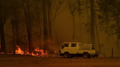 Higher fire danger risk looms for South Coast, but coming rain could be welcome relief
