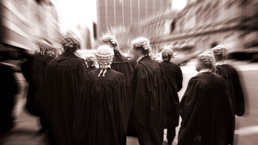 """Legal aid work is no longer a """"viable option"""" for many barristers, the NSW Bar Association says."""