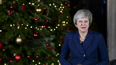 British Prime Minister Theresa May survived a revolt, but still faces a tought BRexit battle.
