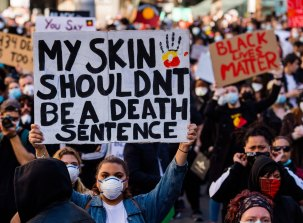 A Sydney protest on June 6 against the deaths of more than 400 Indigenous Australians in custody was part of the Black Lives Matter movement.