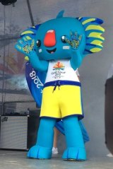 Commonwealth Games mascot Borobi was designed by Kalkadoon artist Chern'ee Sutton.