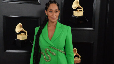 Tracee Ellis Ross at this year's Grammys.