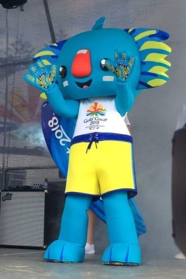 Commonwealth Games mascot Borobi was designed by Kalkadoon artist Chern'ee Sutton.