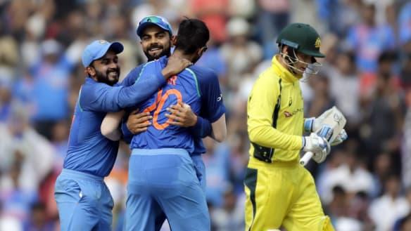 Live: T20 international - Australia v India at the Gabba