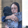 'Humanity hoisted above the humbug': Art critic's verdict on Ardern mural