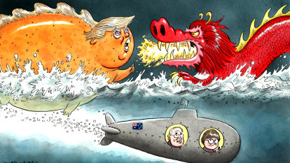Trump and China force Australia to secure its defence closer to home