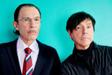 Ron and Russell Mael, aka The Sparks.