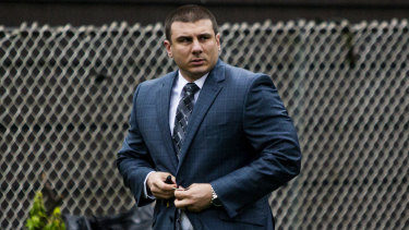 New York City police officer Daniel Pantaleo has been on desk duty since the incident.
