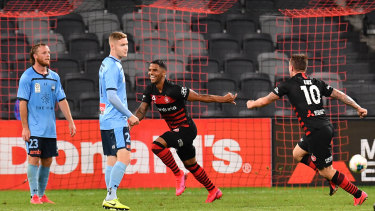 Kwame Yeboah unintentionally scored the Wanderers equaliser in the derby.