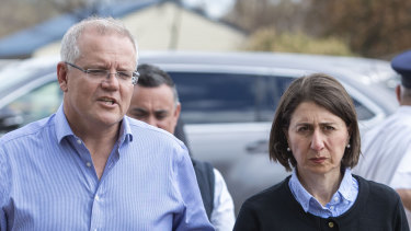 Prime Minister Scott Morrison and NSW Premier Gladys Berejiklian are promising $2 billion to cut emissions and increase gas supply in the state.