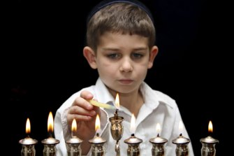 The menorah is the symbol of Chanukah.
