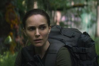 Natalie Portman plays Lena in Alex Garland's film Annihilation.