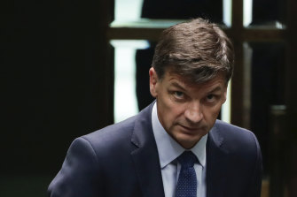 Minister for Energy and Emissions Reduction Angus Taylor faced intense pressure from the opposition last year.