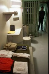 A 1994 photo of a typical cell at the ADX, where El Chapo is likely to serve his prison sentence.