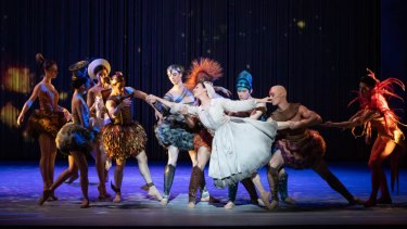 Leanne Stojmenov's Cinderella is pulled in many directions.