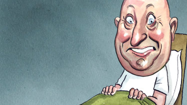 Alan Shortall. Illustration: John Shakespeare