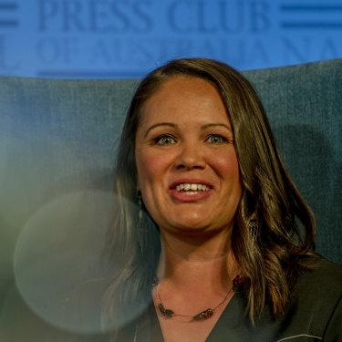 Indigital chief executive Mikaela Jade.